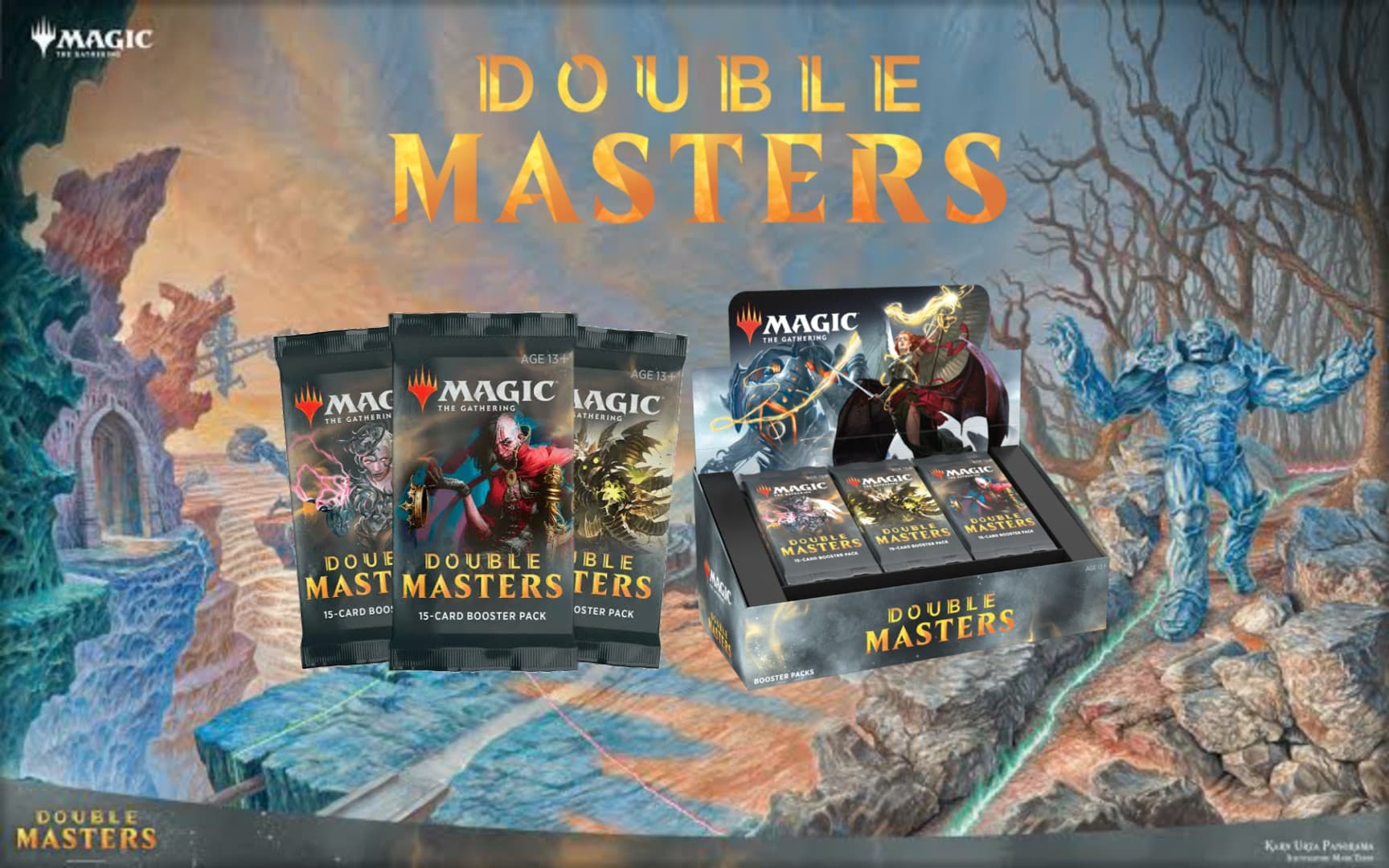 Double Master Booster Box Order NOW! -