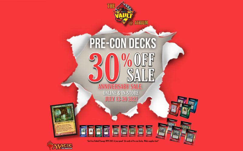 Vault Card Shop Anniversary Sale @ Atrium - <img class=